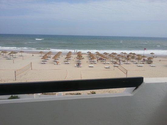Club Marmara Hammamet Beach : Vue de la chambre supérieure, front de mer
