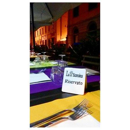 La Stanzina : Tavolo (all'aperto) riservato
