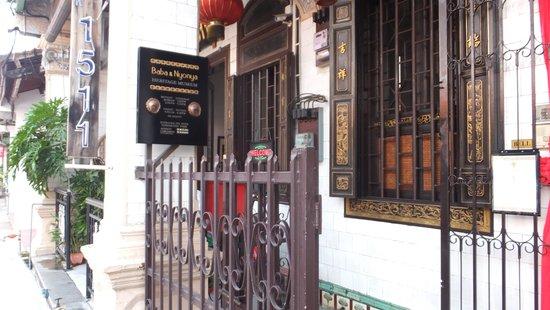 Baba & Nyonya Heritage Museum: 外観