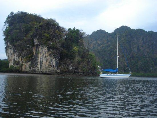Krabi Kayak : ao thalan kayaking