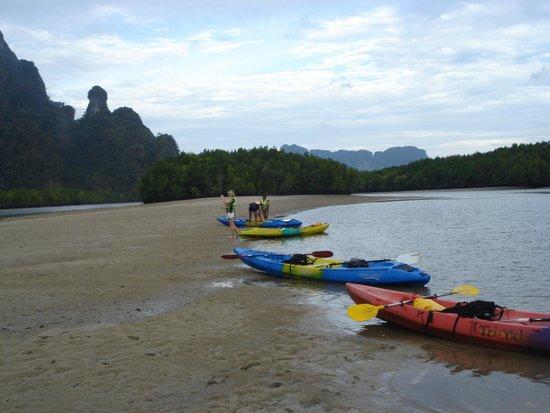 Krabi Kayak: ao thalan kayaking