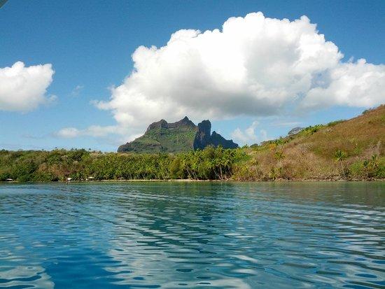 Hilton Bora Bora Nui Resort & Spa: Isola