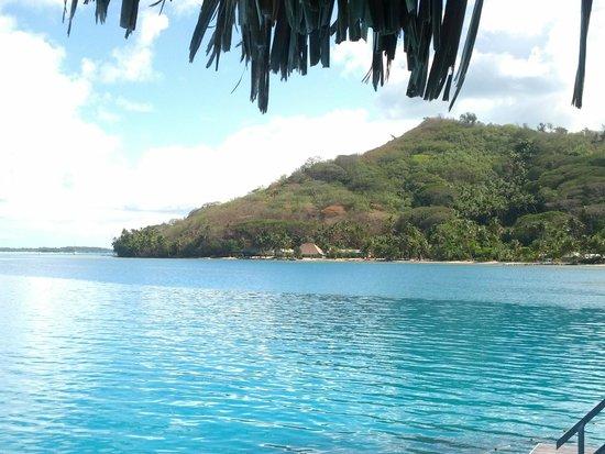 Hilton Bora Bora Nui Resort & Spa: Panorama dalla overwater