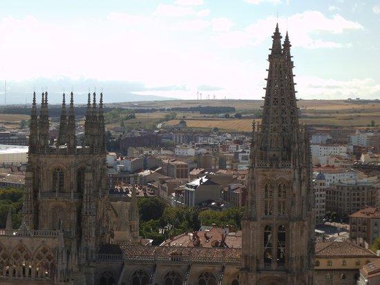 Catedral de Burgos: Desde el mirador del castillo
