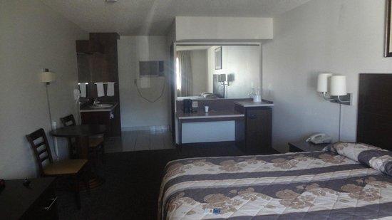 Exchange Club Motel : Exemple de Chambre