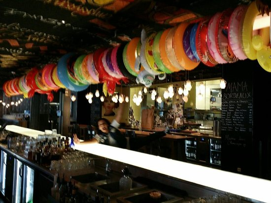 Mama Shelter Bordeaux: Deco moderne du restaurant