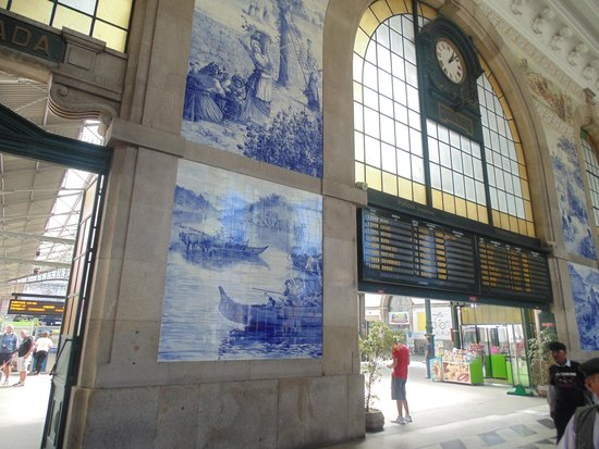Gare ferroviaire de Sao Bento : Relógio da Estação