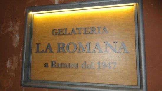 Gelateria La Romana: Logo
