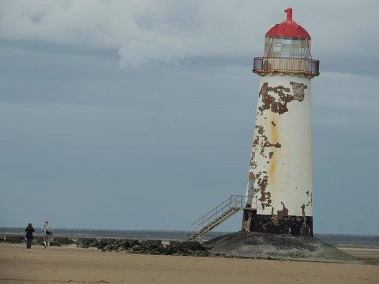 Talacre Lighthouse Picture Of Talacre Beach Caravan Park