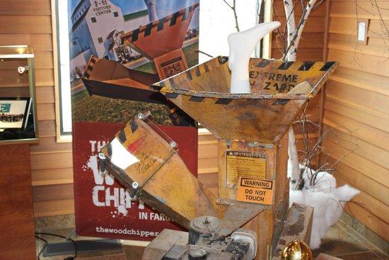 Fargo-Moorhead Visitors Center : The Woodchipper in Fargo