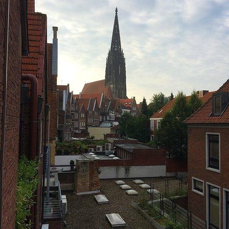 Hotel Busche: My view from the single room
