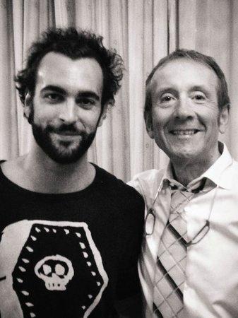 Ristorante Al Gondoliere: Marco Mengoni and Arsenio Lupin