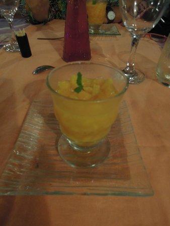 Le Bazouk Du Saloum: mango, menta.. no sé, pero bonísimo