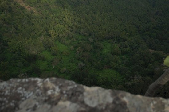 The view from Heaven's Ledge