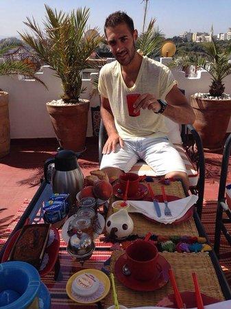 Desayuno en dar sultan