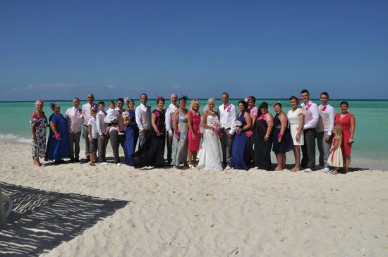 Sol Cayo Guillermo: Fantastic holiday with family and friends