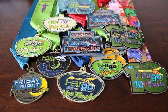 5 years of Fargo Marathoning...