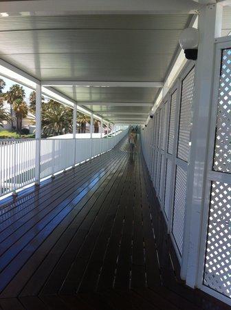 ClubHotel Riu Paraiso Lanzarote Resort : passerelle