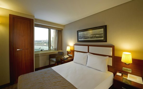 Istanbul Golden City Hotel: Sea View Room