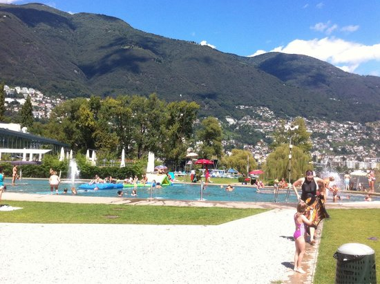 Lido Locarno: One of the kids pools