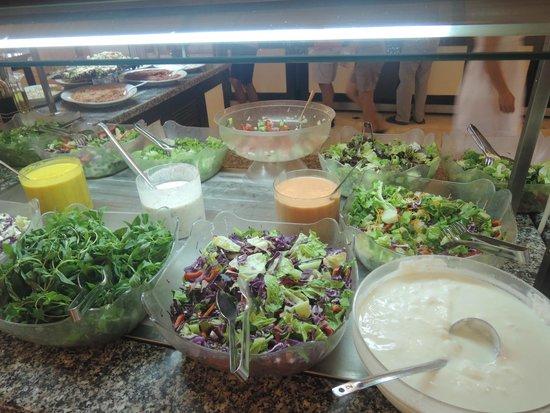 Teos Village: Good organic food