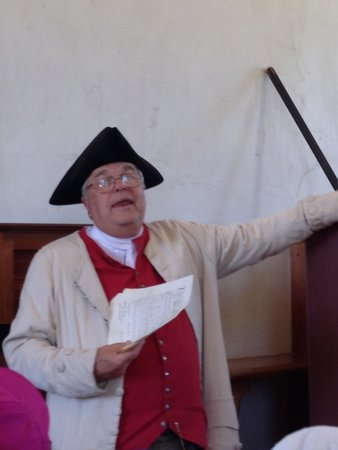 Colonial Williamsburg : Order In The Court program.  This is a must see.