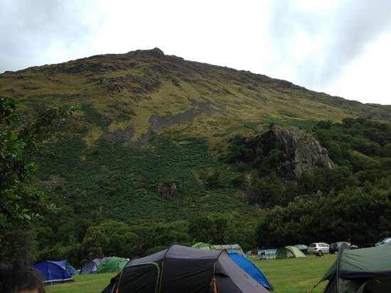 Llyn Gwynant Campsite: From our tent
