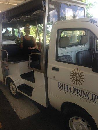 Luxury Bahia Principe Bouganville Don Pablo Collection: Courtesy ride
