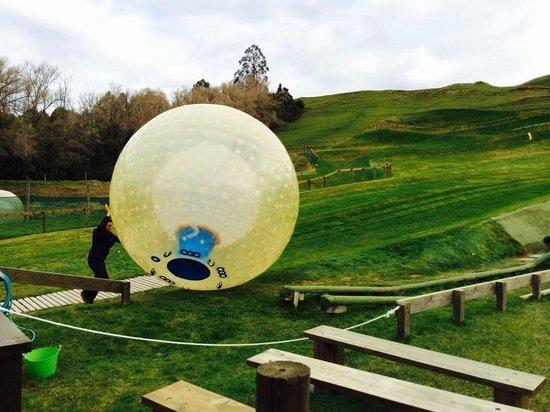 OGO Rotorua : Just before...