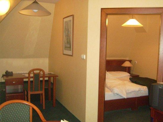 Hotel Wien: camere