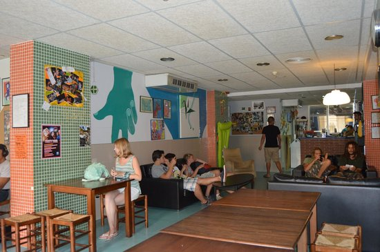 Be Dream Hostel: Lobby where you can meet with other travelers