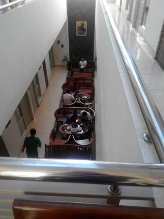 Hotel Poncowinatan : view from 2nd floor