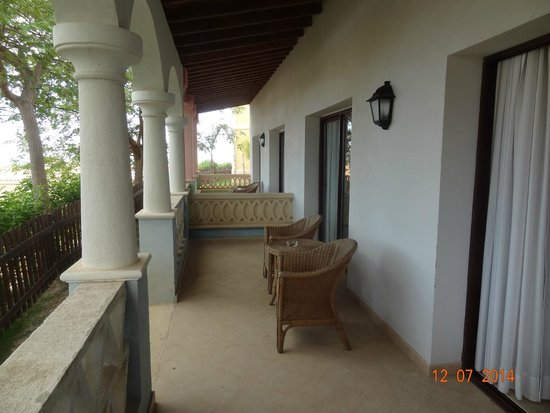 Melia Villaitana: terrace