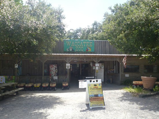 Waccatee Zoo : front entrance