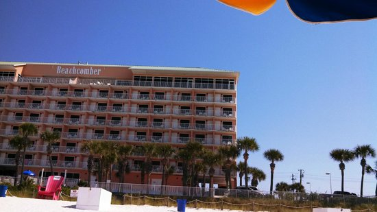 Beachcomber by the Sea: View of the hotel from the beach