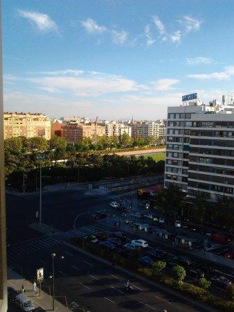 Expo Hotel Valencia: vista dalla camera