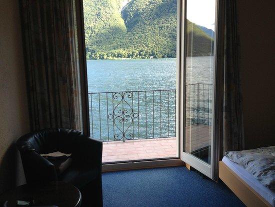 Hotel Moosmann: Vue sur le lac