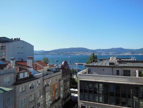 Hotel America Vigo: dalla terrazza