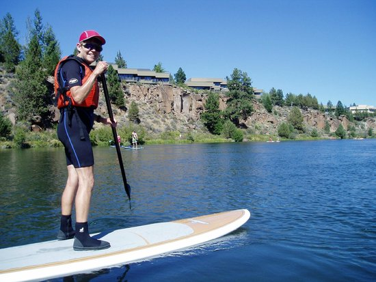 Sunriver Marina: at river bend park on the dechutes