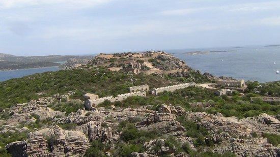 Roccia dell'Orso: vista sul forte