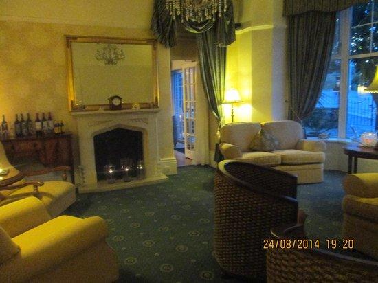 Hotel Carlton: Sitting room