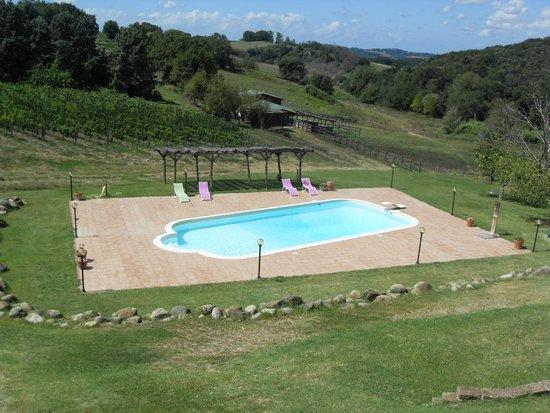 La Locanda del Toscano: la stupenda piscina