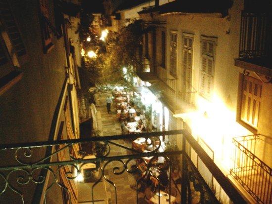 Kyveli Suites, balcony night view