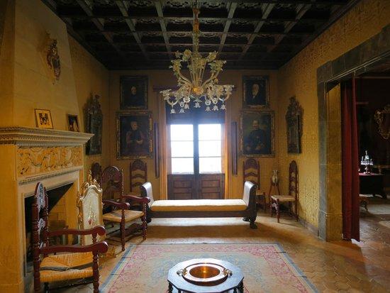 La Cartuja de Valldemossa : Во дворце Санчо