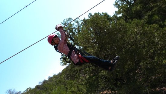 Royal Gorge Zip Line Tours: Look at me!