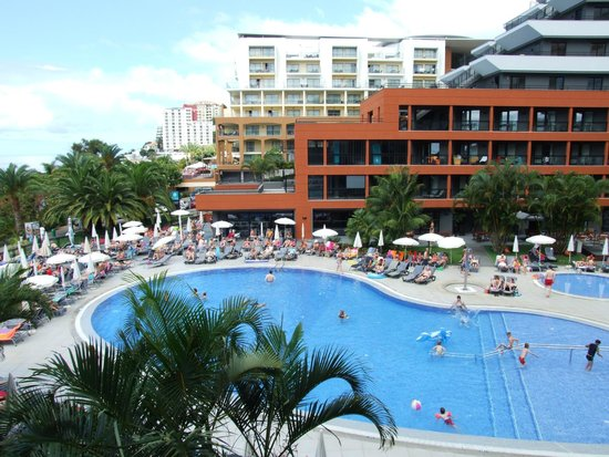 Enotel Lido Madeira : first day view