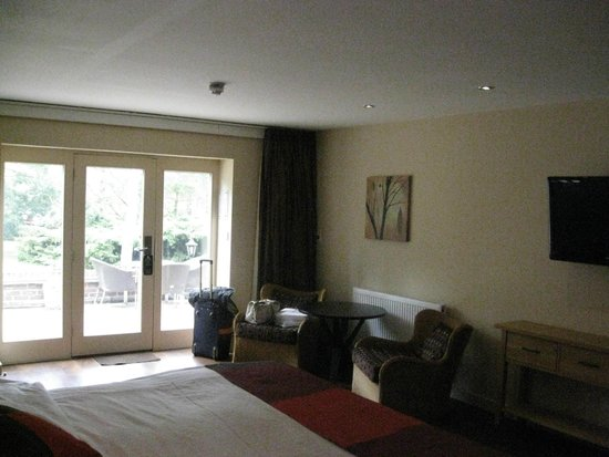 Great Hallingbury Manor: Our room on the ground floor of the stables