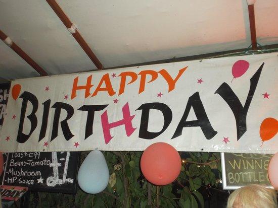 New York Restaurant and Bar: birthday party