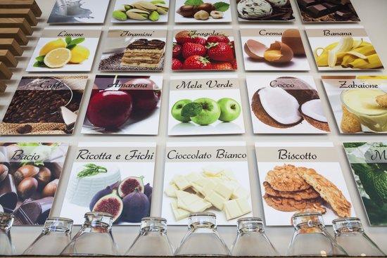 Caffetteria Gelateria Velo Gusti gelato fatti con ingredienti naturali e  frutta fresca