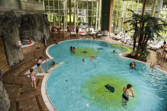 Falkensteiner Family Hotel Lido Ehrenburgerhof: Interno della piscina.